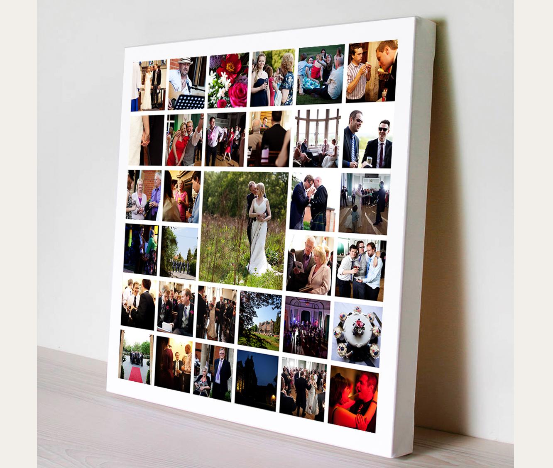 Фото печать большие форматы на холсте